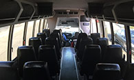 executive bus interior